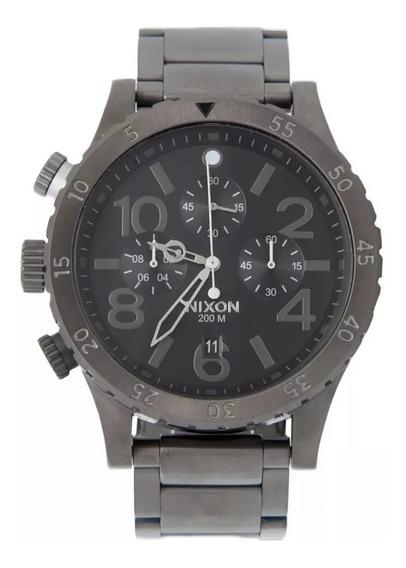 Relógio Masculino Sxz5677 Nixon - Modelo A0831530 Cinza Top