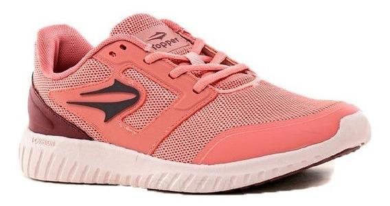 Zapatillas Topper Running Mujer Fast Rosa Clic