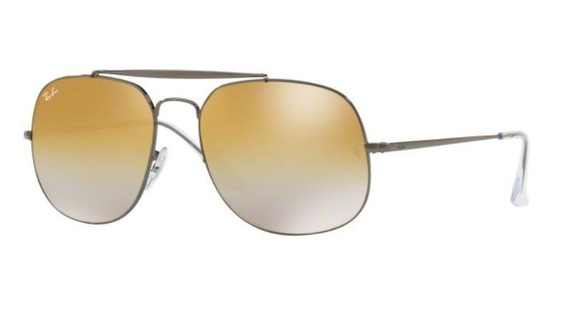 Oculos Sol Ray Ban General Rb3561 004/i3 3f 57mm Dourado Deg
