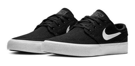 Tênis Nike Sb Zoom Janoski Cnvs Rm Preto/ Branco Original