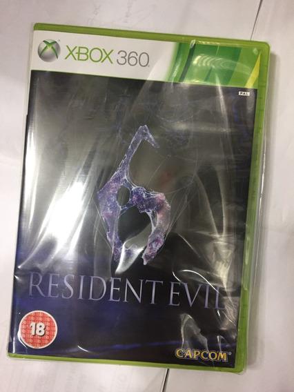 Resident Evil 6 Xbox 360 Midia Fisica Original,estado Dezero