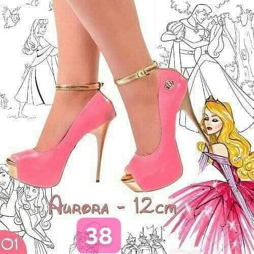 Sapato Para Debutantes - Princesas