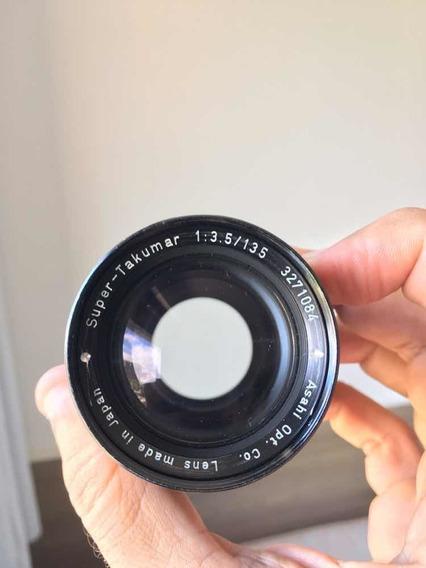 Lente Objetiva Pentax Super Takumar 135mm 3.5 Mount M42