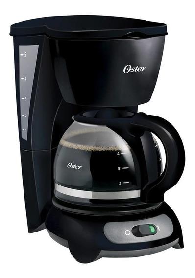 Cafetera Básica 5 Tazas Negra Oster Bvstdc3401-013