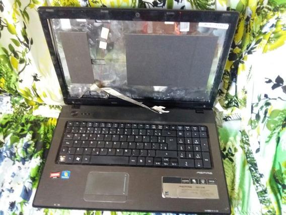 Carcaça Notebook Acer Aspire 7551 Com Placa