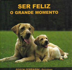 Livro Ser Feliz O Grande Momento Cel. Edson Ferrarini