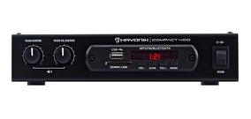 Amplificador Hayonik 40w Com Bluetooth Compact 400 4 Canais