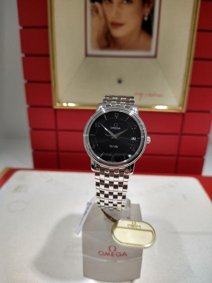 Relógio Omega De Ville Aço Md 45105000