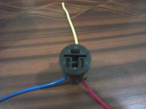 Conector Para Regulador Alternador Toyota Corolla Redondo G4
