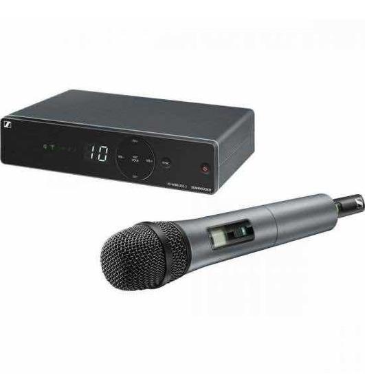 Microfone Sem Fio Sennheiser Xsw1 825 A 10canais Uhf