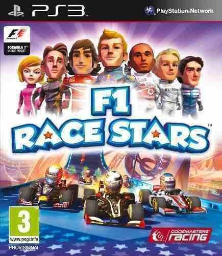F1 Race Stars - Jogos Ps3 Playstation 3 Psn