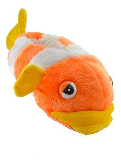 Pantufla Fhish Naranja 59060-99 Elis Calzados