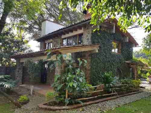 Casa Candela En Renta Anual En Tepoztlán