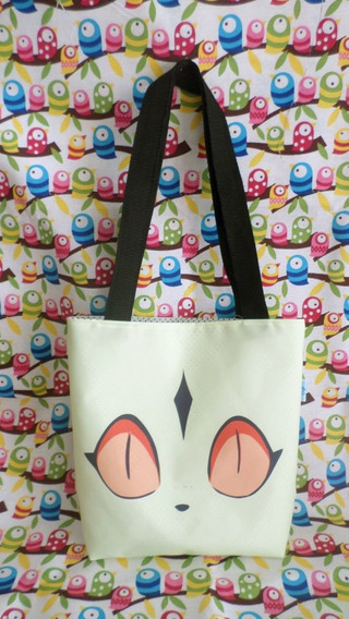 Mini Tote Bag Cartera De Anime Inuyasha Kirara Gato