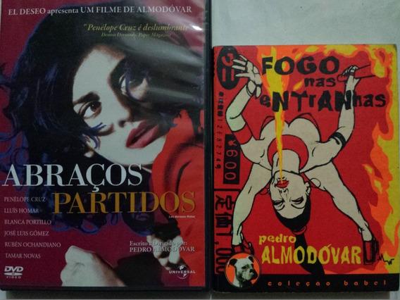 Livro Fogo Entranhas + Dvd Abraços Partidos- Pedro Almodovar