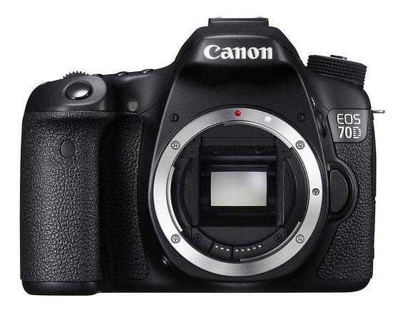 Canon Eos 70d Dslr Wi-fi 20,2mp Corpo
