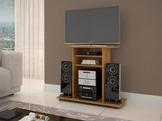 Rack Cipó Televisão Som Estante Decorativa Sala Casa Quarto