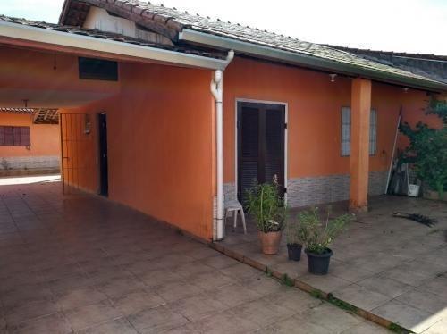 Casa Lado Praia Com Edicula E Quintal Em Itanhaém Litoral Sp