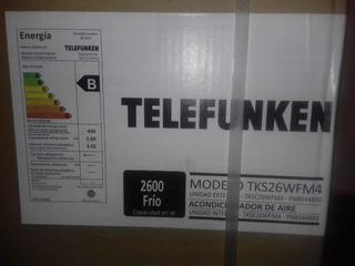 Aire Acondicionado Telefunken Frío 2600 W