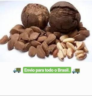 10 Kg De Castanha Do Pará C/casca-amazônia Promoção Barato