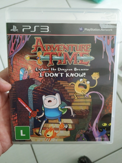 Adventure Time Explore The Dungeon Ps3 Usado