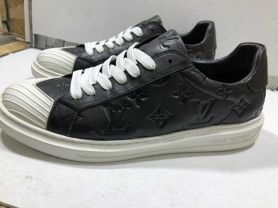Tenis Louis Vuitton Tipo Vans Blanco Y Negro