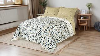 Cubrecama Kavanagh Quilt Estampado Queen Size 2 Plazas Y 1/2