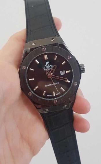 Relógio Hblot Funcional Hora E Data
