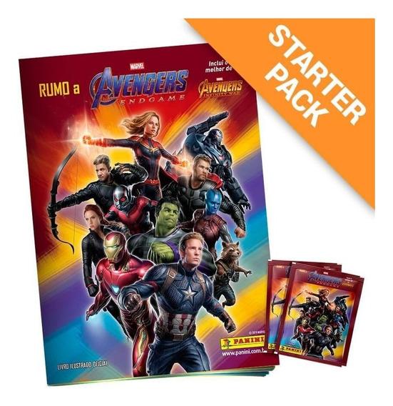 Starter Pack Avengers: Endgame - Album + 20 Envelopes