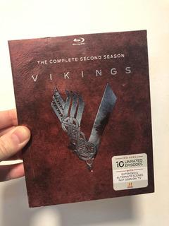 Vikings Temporada 2 Completa Blu Ray Con Cover -cuotas S/int