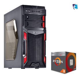 Pc Typhoon R3 2200g A320m Hd 2x 4gb Fury Ssd120 Bc500 I