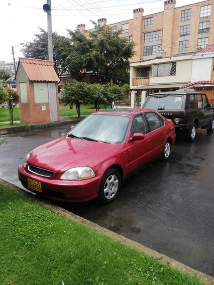 Honda Civic Ex Automatico 4 Puertas