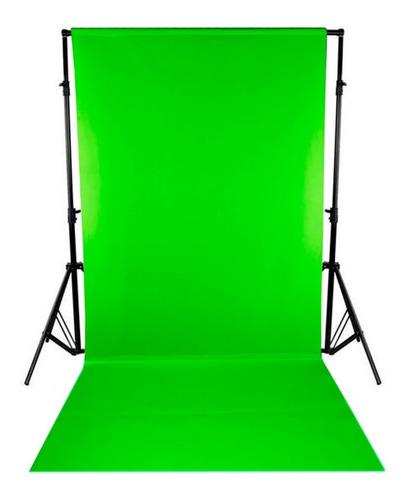 Fondo Infinito Croma Key Verde Digital Tela 3x1,5 S/estruct.