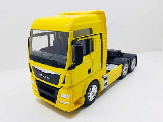 Miniatura Caminhão Man Tgx Trucada Escala 1;32 Welly Metal
