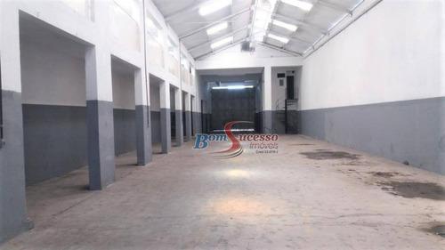 Imagem 1 de 8 de Galpão Para Alugar, 720 M² Por R$ 15.000,00/mês - Parque Novo Mundo - São Paulo/sp - Ga0265