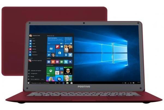 Notebook Positivo Motion Red Q 232a - intel Quad Core 2gb 32