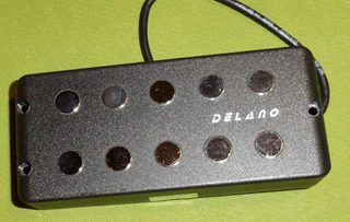 Delano Mc 5 Fe/j Mm Ernie Ball Style Quadcoil Pickup