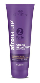 Creme Relaxante Afro Nature Força 2 - Forte 250gr