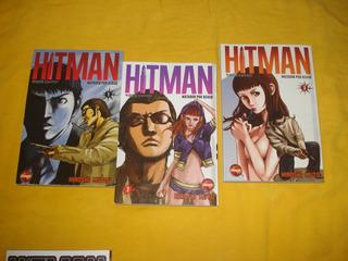 Manga Hitman Nº 1 2 3 Matador Por Acaso Mini Série Completa
