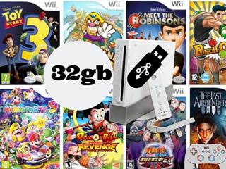 Juegos De Wii Pendrive 32gb. Libre Elección. Envio Gratis