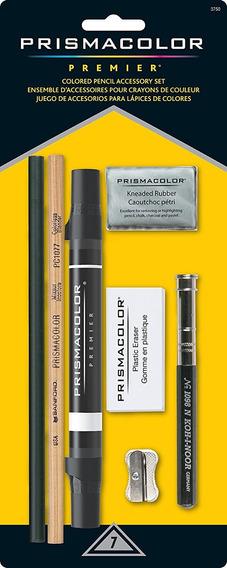 Prismacolor Set Blender Lapiz Accesorios 7pzs