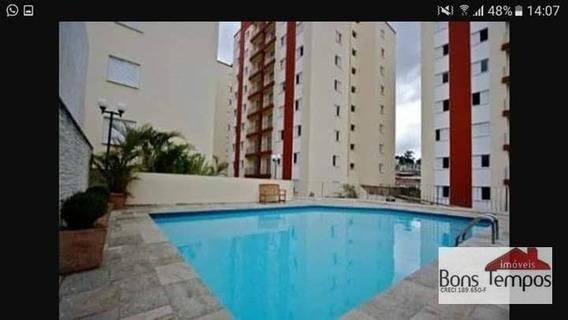 Apartamento Com 3 Dormitórios À Venda, 68 M² Por R$ 350.000 - Vila Araguaia - São Paulo/sp - Ap4034