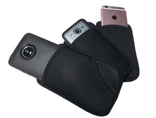 Bolsa Neoprene Anti Furto E Risco Celular Samsung Motorola