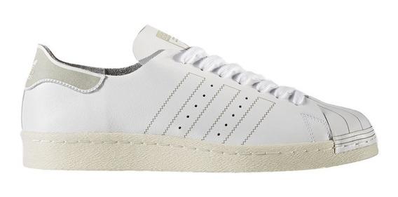 Tenis Originals Piel Superstar 80 Hombre adidas Bz0109