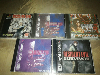 Coleccion Resident Evil Playstation 1 (con Chip)