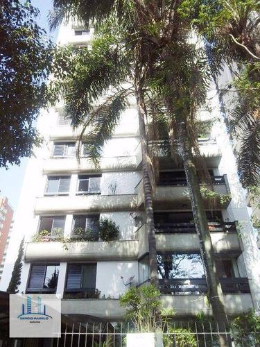 Imagem 1 de 30 de Apartamento Residencial Com 4 Dormitórios À Venda Na Alameda Dos Anapurus- Moema, São Paulo/sp - Ap2311