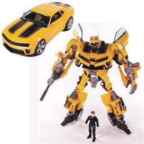 Transformers Carro Robo Bumblebee E Sam Human Alliance Lv3