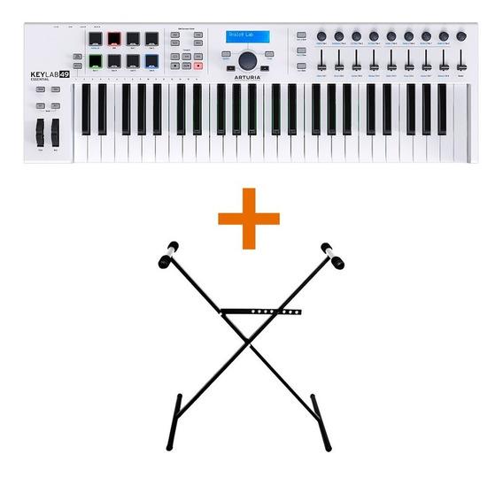 Arturia Keylab Essential 49 Controlador Midi Sensitivo + Pie