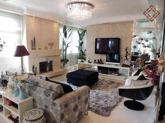 Apartamento Com 4 Dormitórios À Venda, 365 M² Por R$ 5.500.000,00 - Aclimação - São Paulo/sp - Ap45293