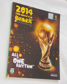 Revista Official Match Programme All In One Rythm Copa 2014